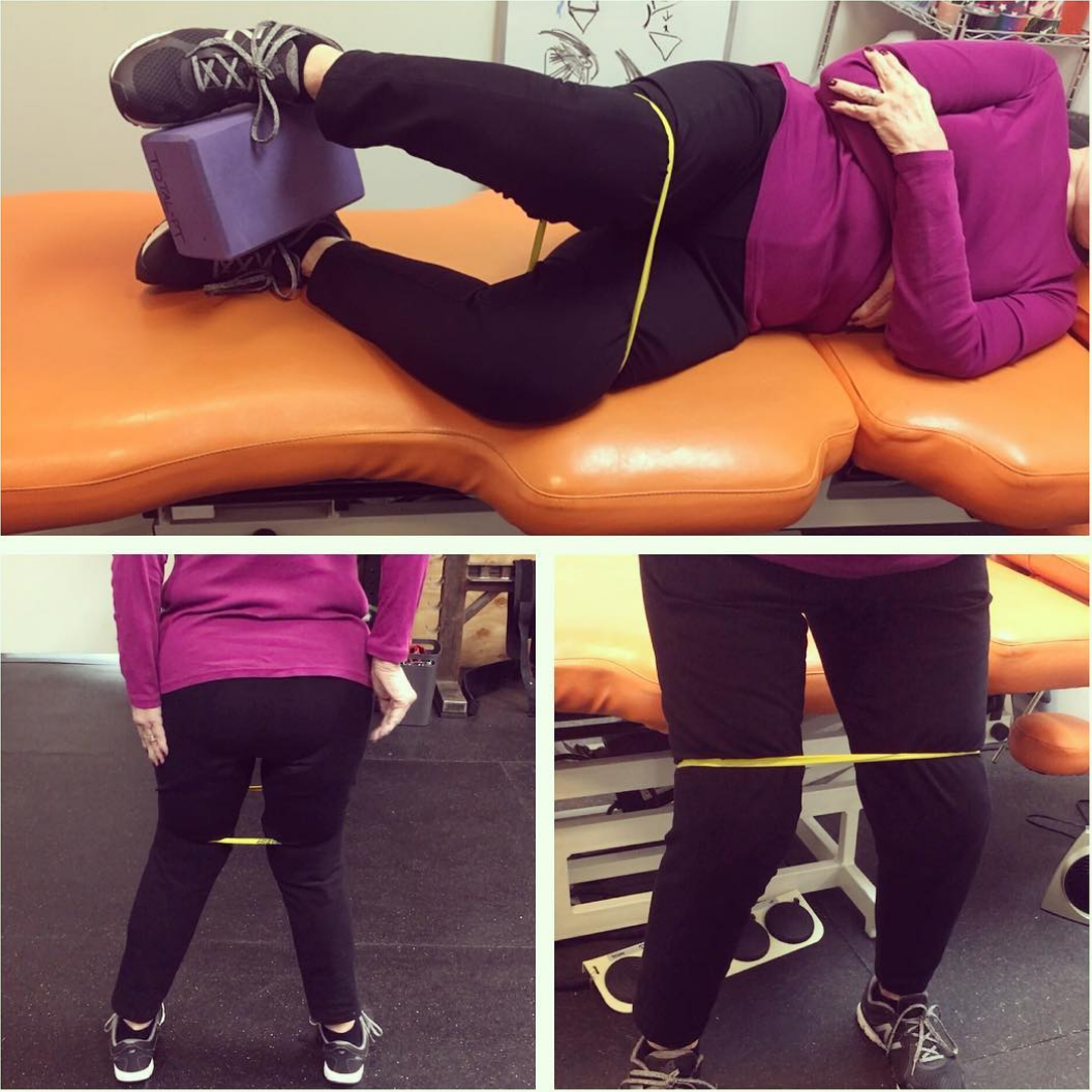 Hip Strength, Abduction & foot pain