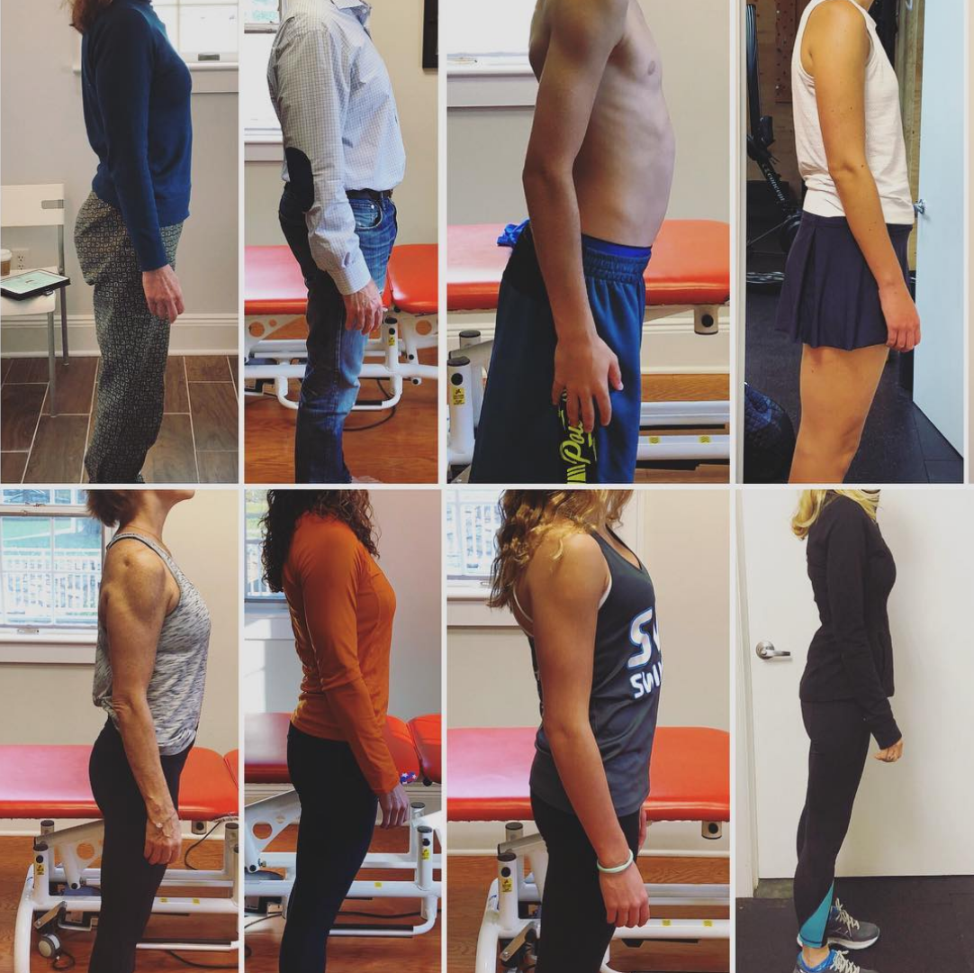 standing posture and low back pain